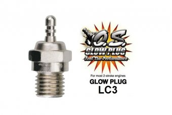 GLOW  PLUG  LC3 (LONG REACH)  HOT (TRAXXAS Engine)
