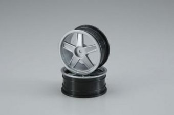 Wheel(5-Spoke/Silver/24mm/2pcs)