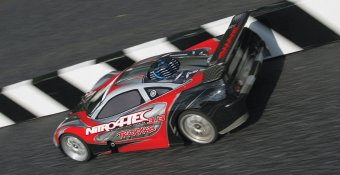 TRAXXAS Nitro 4-TEC 3.3 4WD 1/10 RTR (with telemetry)