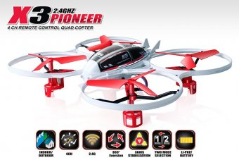 SYMA X3 4CH quadcopter with GYRO