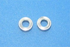 Stainless Shield Bearing(4x8x3) 2Pcs
