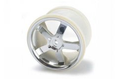 Wheels, Hurricane 3.8'' (chrome) (2) (also fits Maxx series)