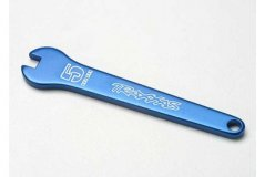 Flat wrench, 5mm (blue-anodized aluminum)