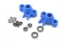 Axle Carriers/Oversized Bearings, Blue:Revo/Slayer