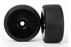 Tires & wheels, assembled, glued (black, dished wheels, slick tires (S1 compound), foam inserts)