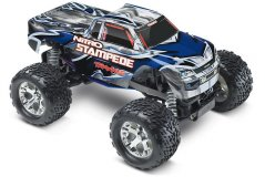 TRAXXAS Nitro Stampede 2WD 1/10 RTR + NEW Fast Charger