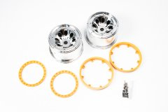 Wheel(Silver Platige/Yellow/2pcs/MAD FOR