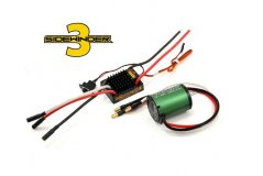 SV3 WATERPROOF 1:10TH 12V ESC 1406-4600 COMB