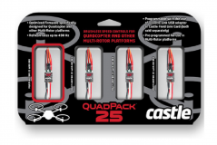 Quadpack 25, 25AMP Multi-Rotor (4) Pack