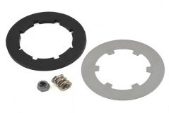 Rebuild kit, slipper clutch (steel disc/friction insert (1)/spring (1)/2.5x12mm pin/4.0mm NL(1))