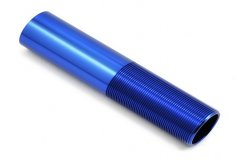 Body, GTX shock (aluminum, blue-anodized) (1)