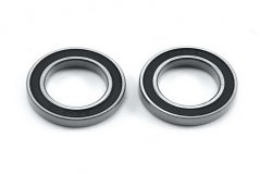 Ball bearing, black rubber sealed (15x24x5mm) (2)