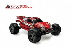 TRAXXAS Rustler VXL Brushless 2WD 1/10 RTR + NEW Fast Charger TSM