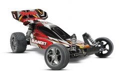 TRAXXAS Bandit VXL 1/10 2WD TQi Ready to Bluetooth Fast Charger TSM
